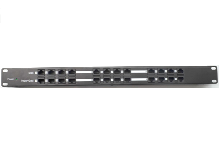 Open-Mesh PoE Injector Passive 24V Rack Mount (12 Port)