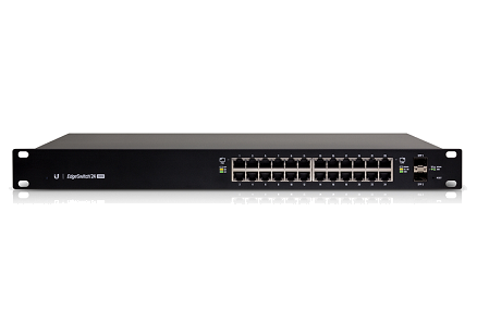 Ubiquiti EdgeSwitch ES-24-250W Managed PoE+ Gigabit Switch With SFP (24 Port)